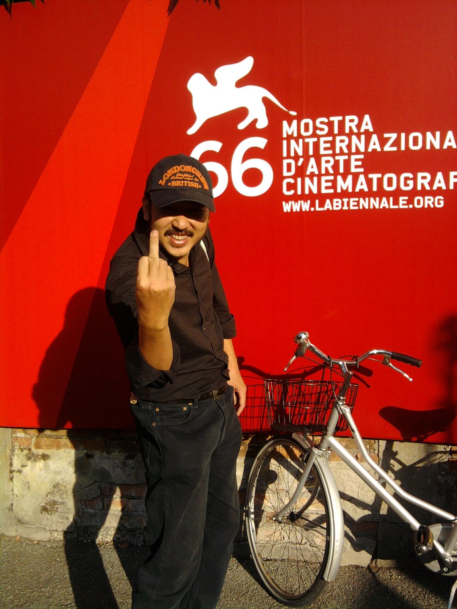 The Fucking Film ! Bui Thac Chuyen (Director) - Venice Festival. ©Arnaud Soulier